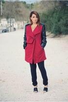 BangGood coat - Dunnes pants - SwayChic heels