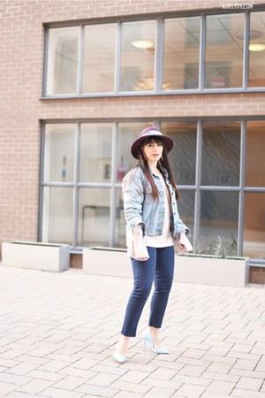 navy Boohoo jeans