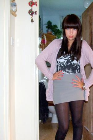 Topshop skirt - Topshop vest