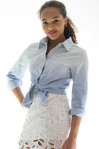 Cloud out chambray shirt