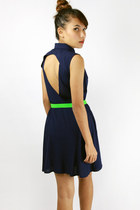 Kate cut-out back dress