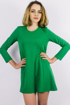 Chain reaction dress - green