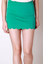 Becca skirt in green