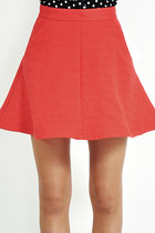 Brolly jacquard skirt