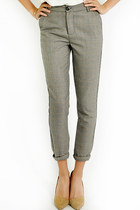 Oxford houndstooth pants