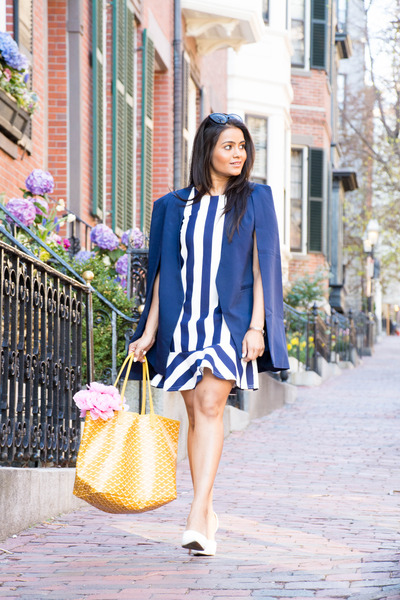 lavish alice blazer - blazer - asos dress - pumps - Zara pumps
