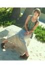 Striped-maxi-bb-dakota-skirt-tank-top-bb-dakota-top-leather-miss-me-clogs