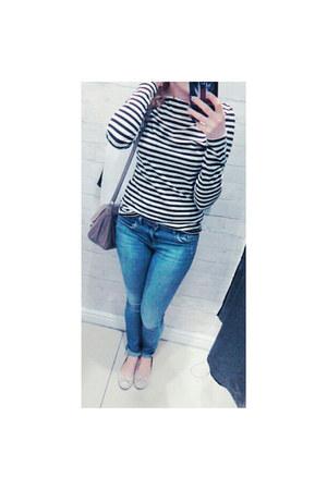Topshop jeans - H&M top
