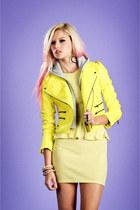 Neon-biker-lucca-couture-jacket