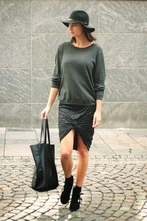 veromoda skirt - veromoda sweatshirt