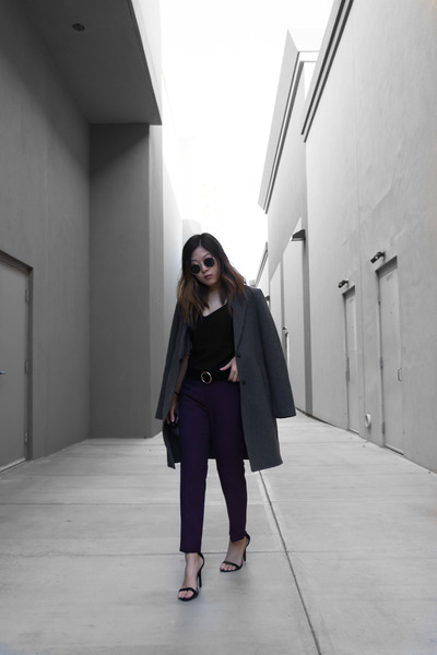 deep purple trousers pants