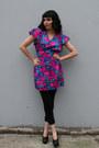 Magenta-vintage-dress