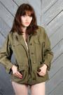Army-green-vintage-jacket
