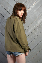 Army Green Vintage Jackets