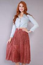 70s Gauze Skirt