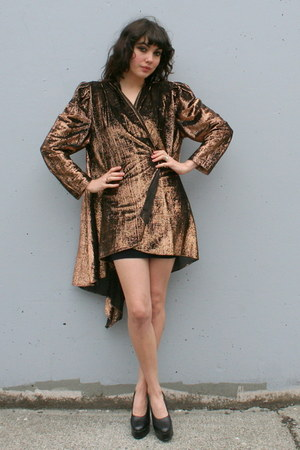 bronze vintage jacket