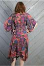 Black-gypsy-scarf-vintage-dress