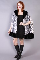 60s Faux Fur Cape