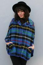 Blue-vintage-cape