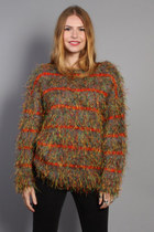 Vintage 90s Shaggy Sweater