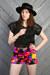 hot pink vintage shorts