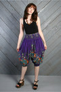 Deep-purple-lucky-vintage-pants