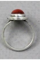 Brick Red Vintage Rings