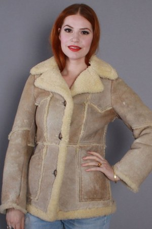The Sheepskin Factory coat