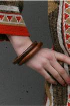 Brown Bangles Vintage Bracelets