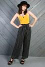 Black-vintage-pants