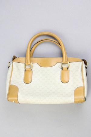 beige speedy Vintage Gucci bag