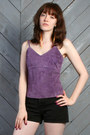 Amethyst-lucky-vintage-top