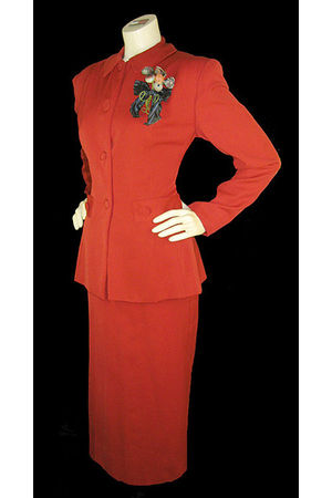 red Handmacher - Vintage suit