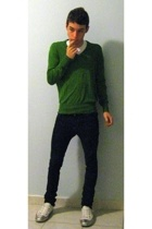 Zara sweater - Cheap Monday jeans - Dolce&Gabbana shoes