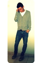 Cheap Monday jeans - Zara shirt - Converse shoes