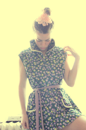 floral vintage blouse