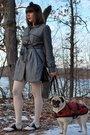 Gray-forever-21-coat-beige-target-tights-black-vintage-shoes-black-lulu-le