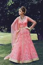 Ravishing Pink Partywear Suit