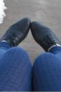 Brown-ann-taylor-jacket-blue-gap-shorts-blue-gap-tights-gray-gap-shirt-b