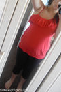 Red-georgeasda-top-black-primark-leggings