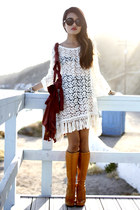 vintage boots - mimi lace dress Gypsy Junkies dress - The Caravan sunglasses