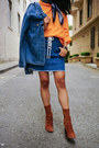 Brown-suede-ankle-zara-boots-blue-paisley-silk-nordstrom-scarf