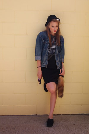 denim Snowy river jacket - creepers Bonbons shoes