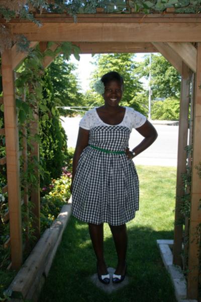 shoes - belt - dress