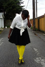 Ivory-shirt-yellow-we-love-colors-tights-black-thrifted-skirt