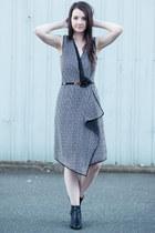 black leather Kors Michael Kors boots - black polyester rachel roy dress