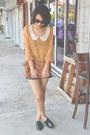 Tawny-leather-bag-zara-bag-black-leather-shorts-the-editors-market-shorts