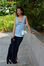 Navy-h-m-blazer-white-lowrys-farm-bag-heather-gray-tank-top-cotton-on-top