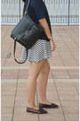 Black-backpack-charles-keith-bag-black-ray-ban-sunglasses