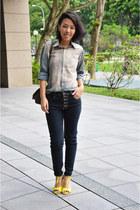 yellow t strap heels rubi heels - brown brown satchel new look bag